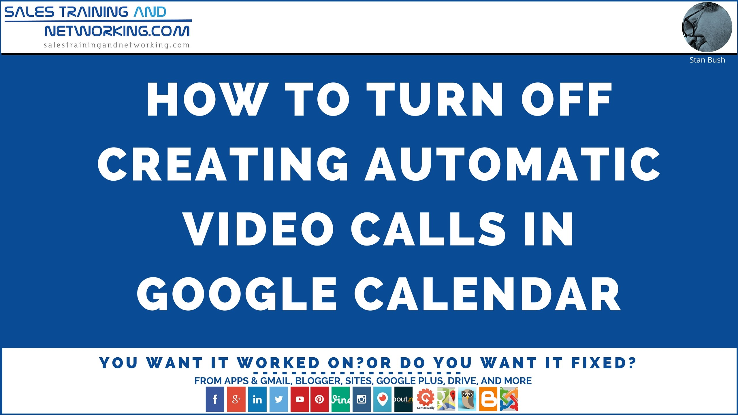 How To Disable The Automatic Creation Of A Video Call When You Create An Appointment In Google Calendar